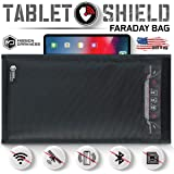Mission Darkness Non-Window Faraday Bag for Tablets // Device Shielding for Law Enforcement, Military, Executive Privacy, EMP