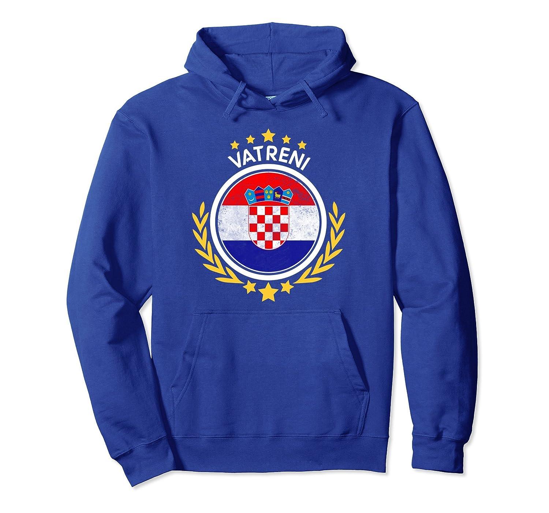2018 Croatia Hrvatska Fan World Soccer Championship Hoodie-ln