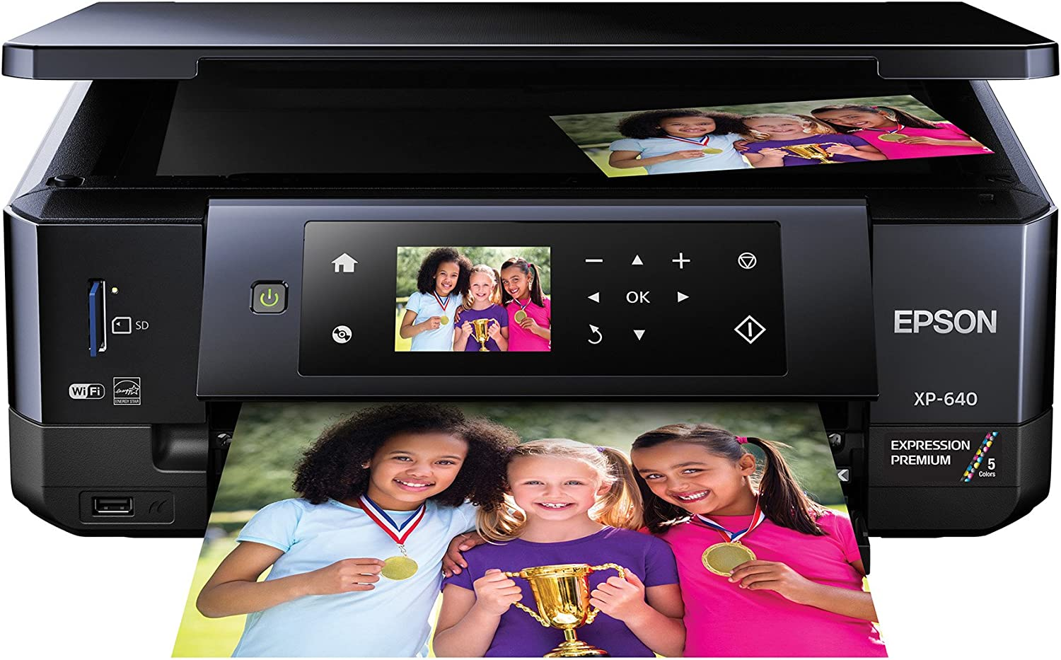 Epson XP-640 Wireless Color Photo Printer 2.7