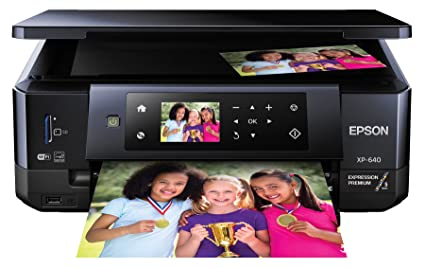 Epson XP 640 – A good choice for homes where space is tight