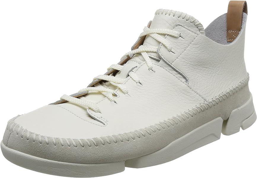 Clarks Originals Trigenic Flex, Zapatillas para Hombre, Blanco (White), 40 EU
