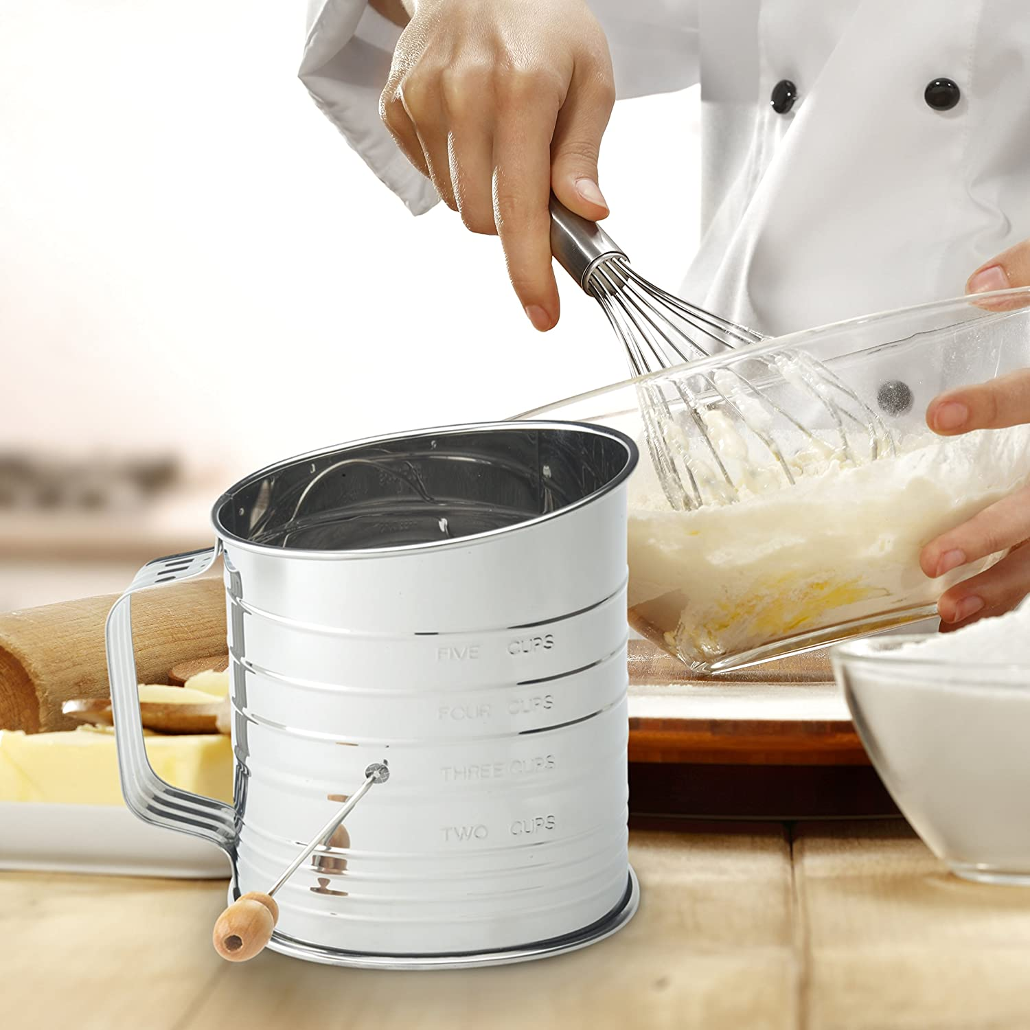 5 Cup Sifter