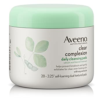 Aveeno Favorites Salicylic Acid Blemish Treatment Special Value Full Size Capture Totale Multi-Perfection Creme Refill - Light Texture 2oz
