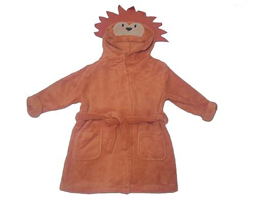 M O Clothing Robe De Chambre Garcon Marron 5 6 Ans Amazon