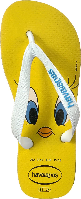 Toddler//Little Kid//Big Kid Havaianas Kids Unisex Looney Tunes Sandal