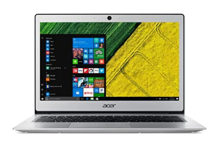 Acer Swift 1 Notebook, Pantalla LED, procesador Intel, RAM 4 GB DDR3 Plateado