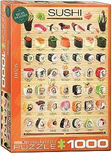 EuroGraphics Sushi Puzzle (1000-Piece) (6000-0597)