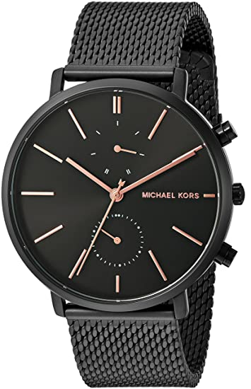 385d8ddda55 Buy Michael Kors Men s MK8504 Analog Quartz Black Stainless Steel Watch  Online at Low Prices in India - Amazon.in