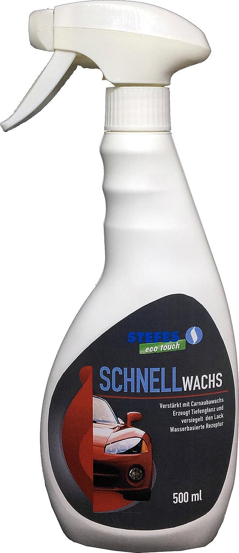 Quick Wax - Cera selladora brillante profesional para cuidado del automó vil, 500 ml STEFES GmbH 00310