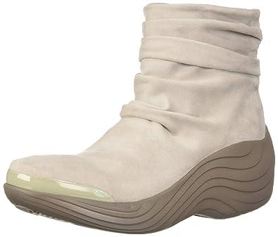 9aa8f7b807c BZees Women s Zizzle Ankle Boot Beige Microfiber 6 ...