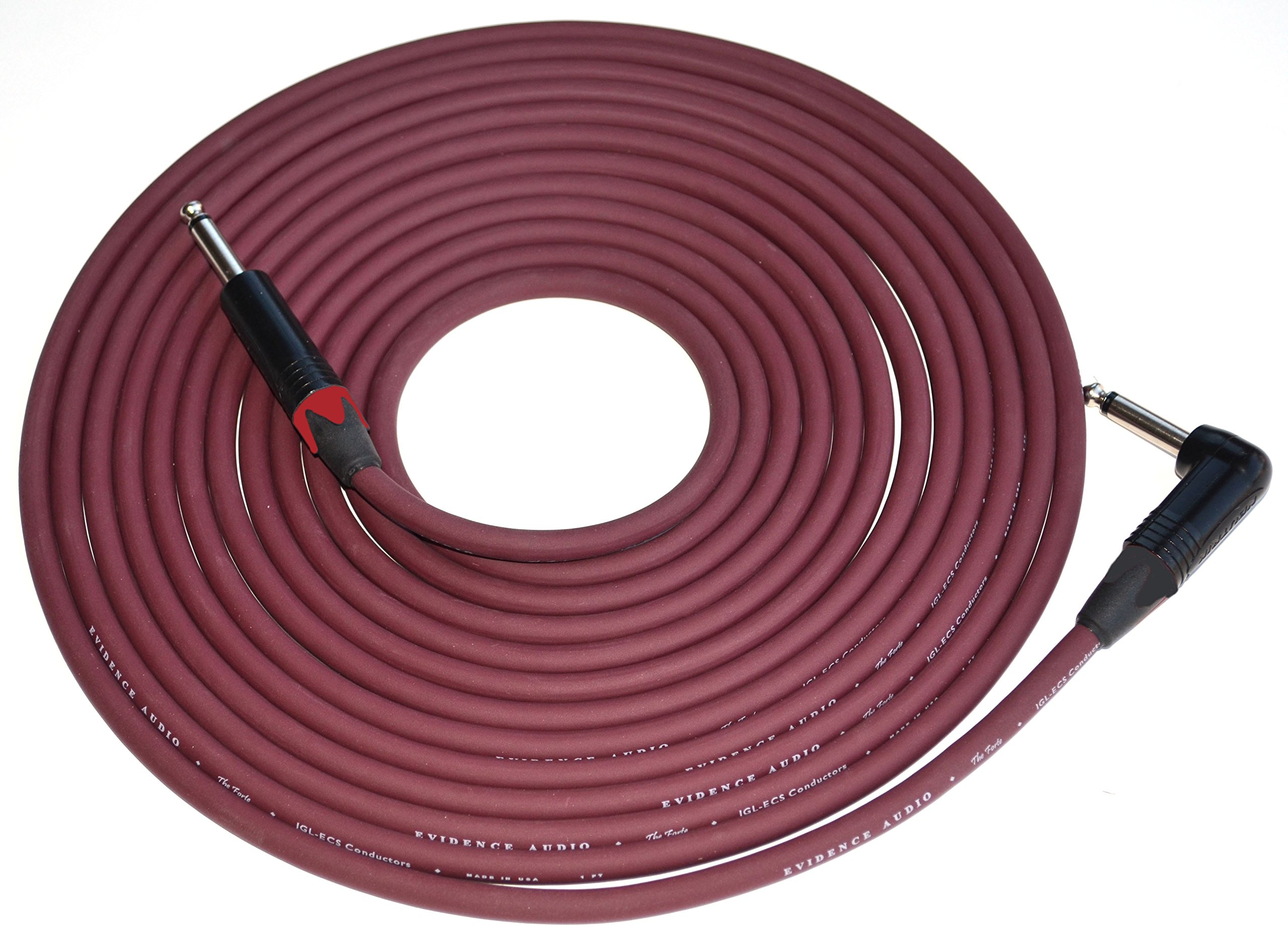 Evidence Audio The Forte 10 Foot Instrument Cable Right to Straight by Evidence Audio (Image #1)