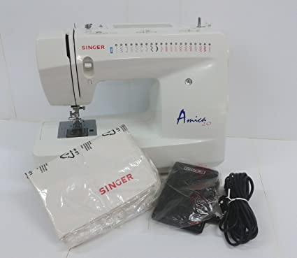 Singer Decorative-Máquina de coser, Amica 20-mod.3820: Amazon.es ...