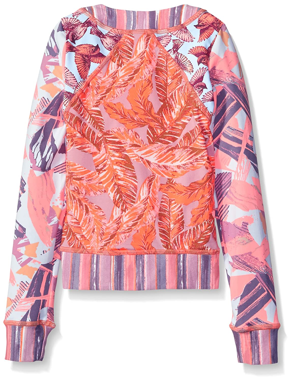 f35ec56c138 Amazon.com: Maaji Girls' Tangerine Little Fairies Crafty Brush Rashguard:  Clothing