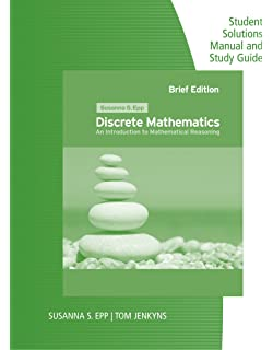 Discrete mathematics introduction to mathematical reasoning student solutions manual and study guide for epps discrete mathematics introduction to mathematical reasoning fandeluxe Gallery