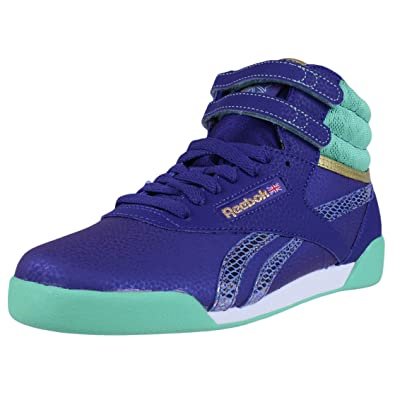 a5bf628a284b8f Image Unavailable. Image not available for. Color  REEBOK CLASSIC GIRLS  FREESTYLE HI ...