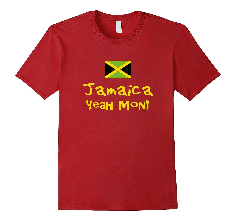 Yeah Mon T-Shirt - Jamaican Flag Shirt - Jamaican Pride-FL