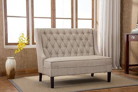 Awe Inspiring Amazon Com Azufi 54 Wool Flax Blending Diamond Tufted Pabps2019 Chair Design Images Pabps2019Com