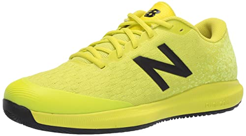 new balance hombre en amarilla