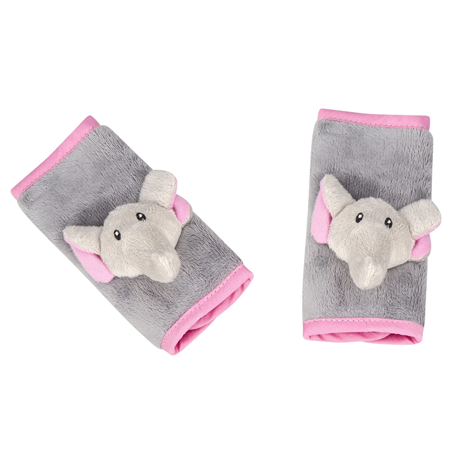 Animal Planet Strap Covers 2 Pack, Pink Elephant 60157