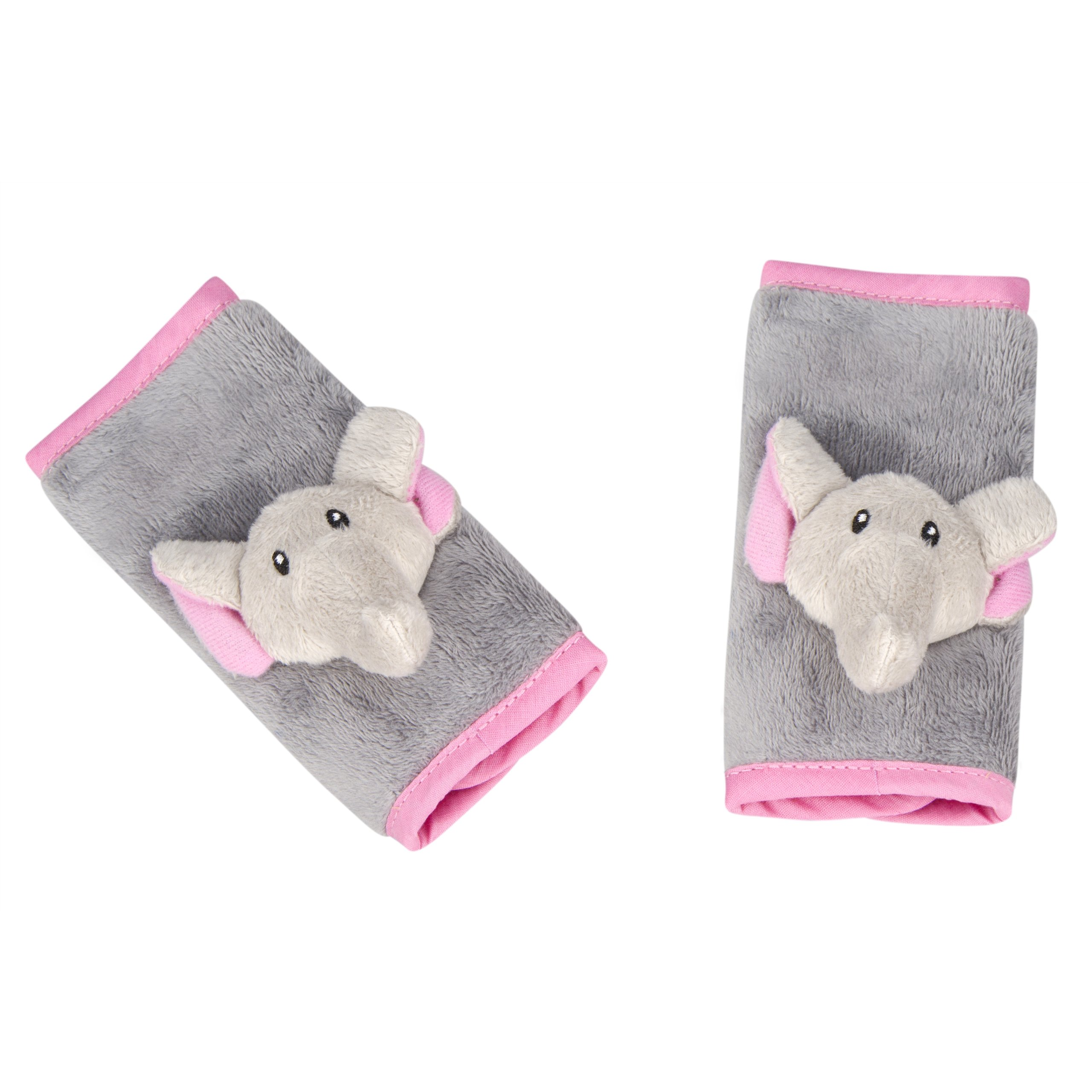 Animal Planet Strap Covers 2 Pack, Pink Elephant
