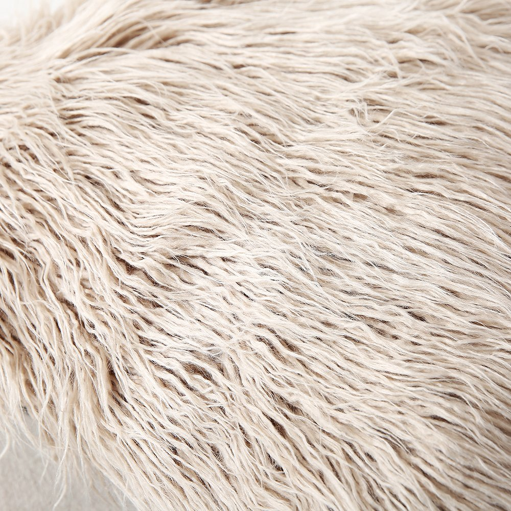 Amazon.com: Sungea - Fundas de almohada de piel sintética ...
