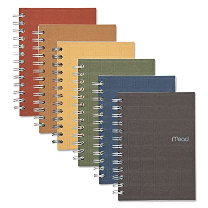 amazon com recycled notebook 5 x 7 80 sheets college ruled