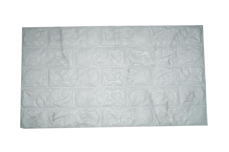 Pannello 77x70cm mattoni carta parati pvc mattoncini 3d for Carta muro lavabile adesiva
