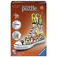 Ravensburger - Puzzle 3D Sneaker Emoji 108 pièces, 11218