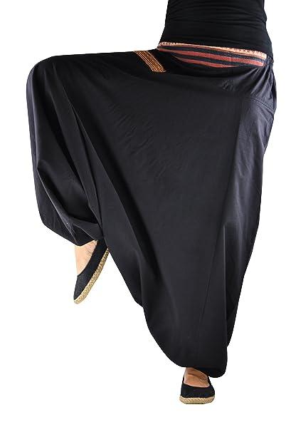 4a8dd14f1586 Pantalones bombachos hombre y mujer virblatt con tejidos tradicionales  talla única pantalones cagados con cómodo cinturón elástico, S - L ropa -  Nachttraum: ...
