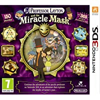 [UK İthal] Professor Layton and the Mask of Miracle Game 3DS