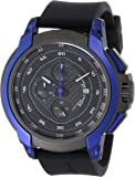 Ritmo Mundo Unisex 1001/2 Blue Quantum Sport Quartz Chronograph Carbon Fiber and Aluminum Accents Watch