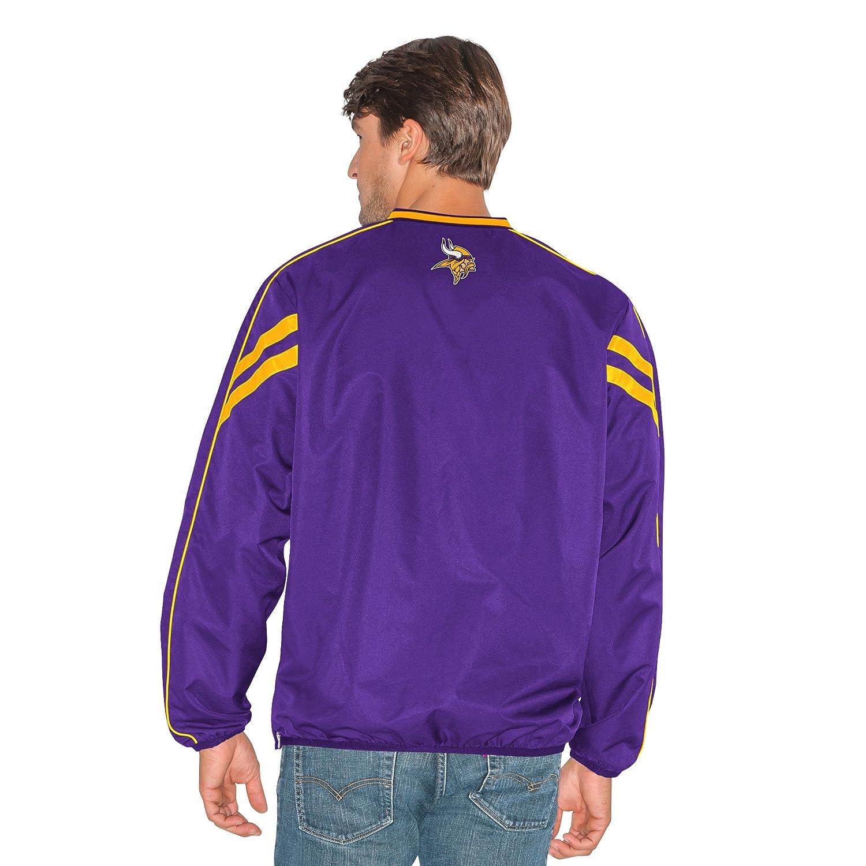 G-III Mens Red Zone V-Neck Pullover Purple 5X