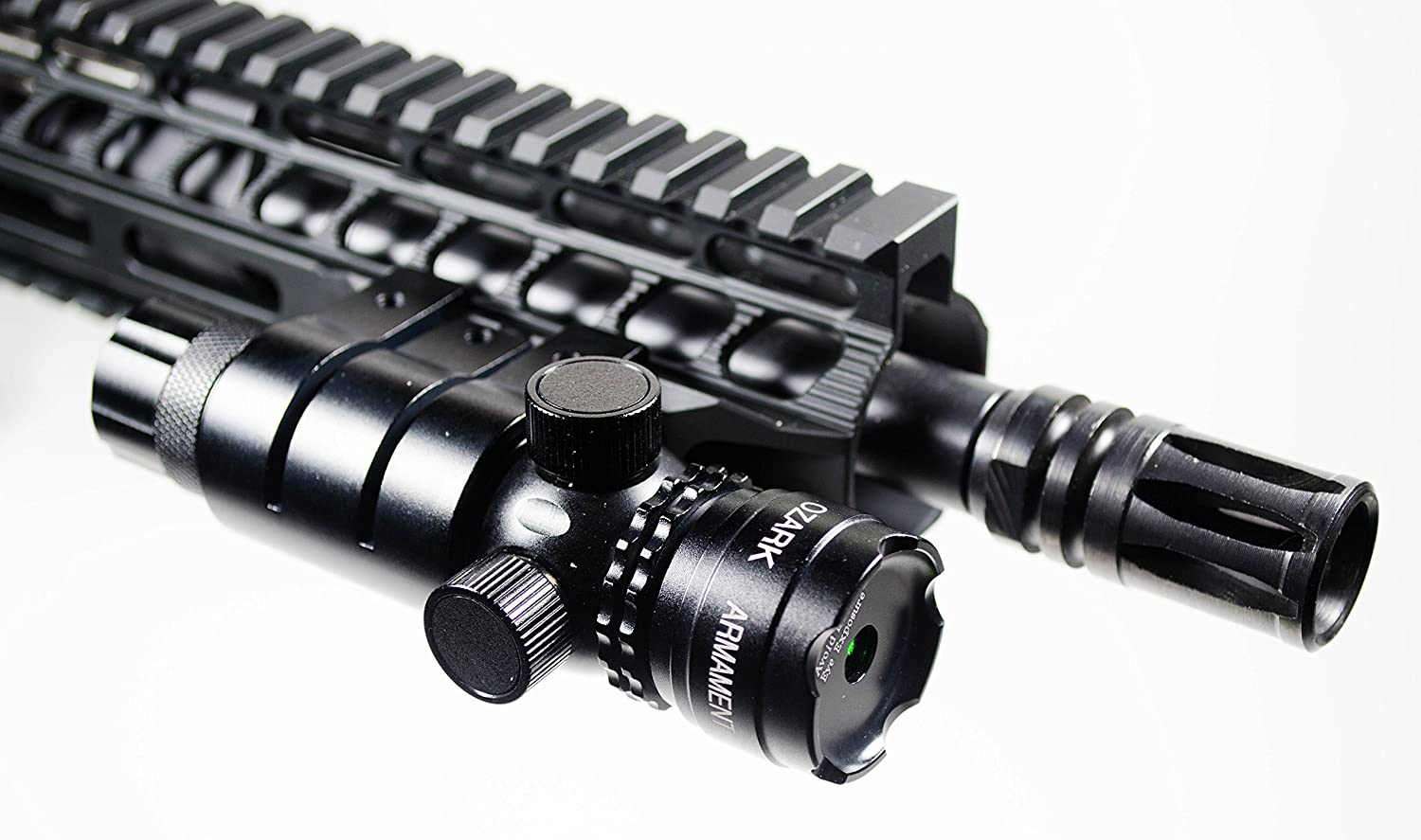 Ozark Armament - 5mw 532nm High Powered Tactical Green Laser