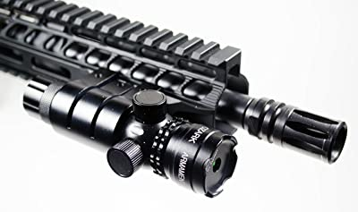 Green Laser Sight System by Ozark Armament - 5mw 532nm High Powered Tactical Green Laser