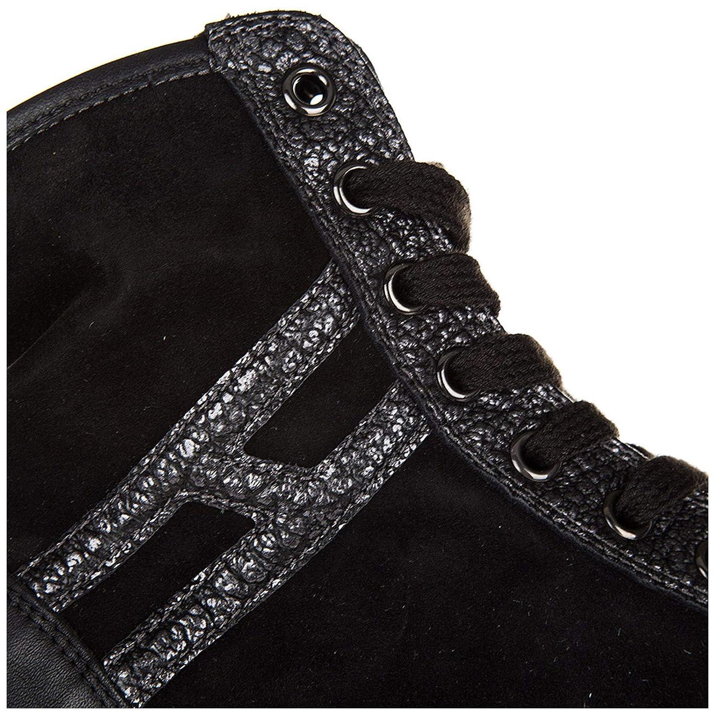 Hogan Rebel Rebel Rebel scarpe da ginnastica Alte R182 Donna Nero 461c07