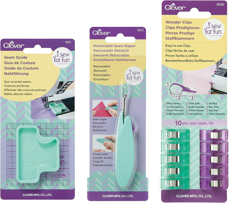 Clover Sew for Fun Retractable Seam Ripper Seamripper