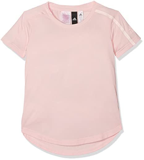 Adidas Yg Zne tee Camiseta, Niñas, Rosa (Roshel), 116