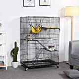 Yaheetech Collapsible Large 3 Tier Metal Wire Pet