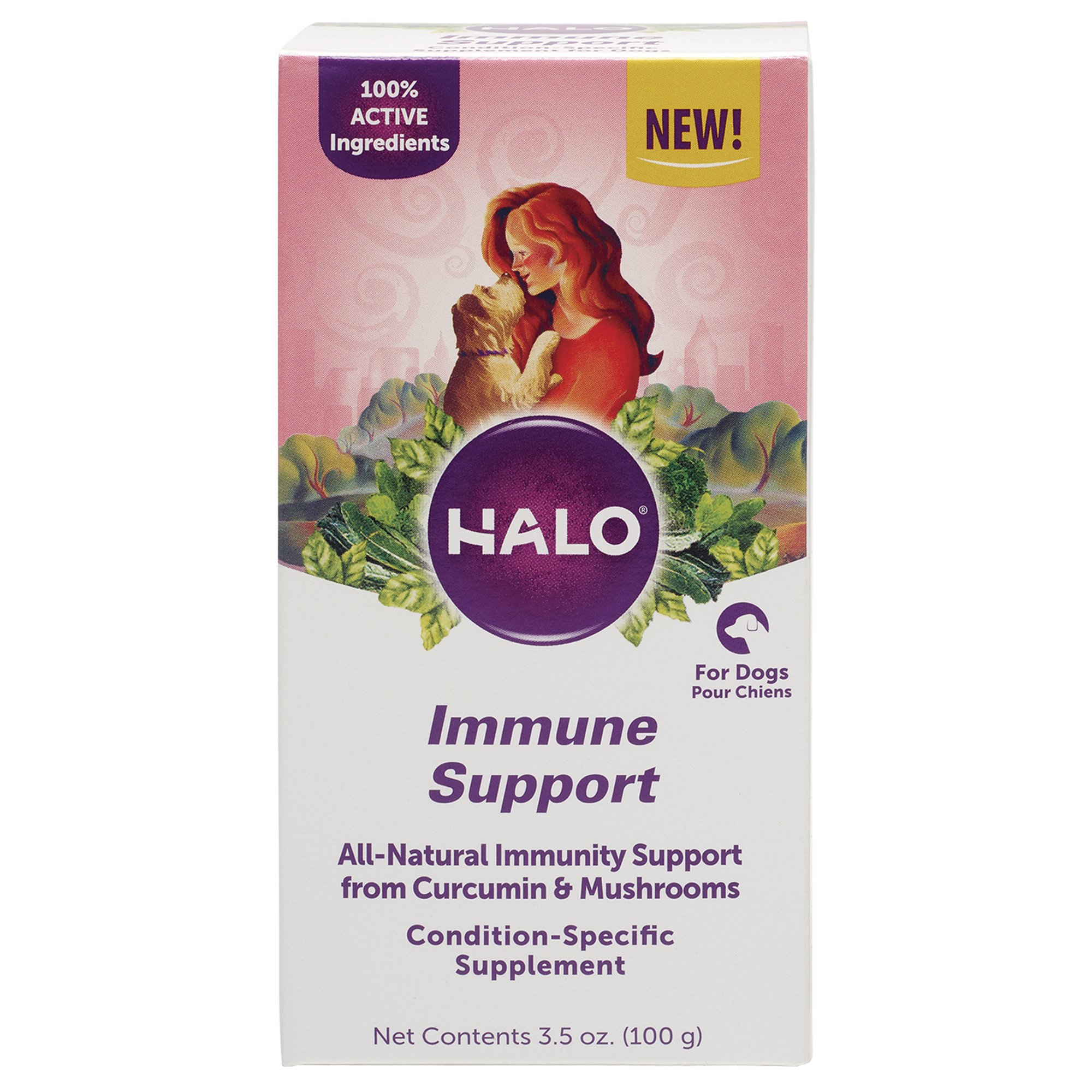 Halo, Purely for Pets 10070 Immune Support Supplement, One Size