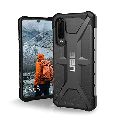 URBAN ARMOR GEAR UAG Designed for Huawei P30 [6.1-inch Screen] Plasma Feather-Light Rugged [Ash] Military Drop Tested Phone Case
