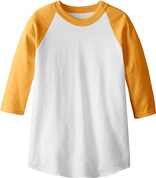SOFFE MJ Camiseta de b/éisbol de Manga 3//4 para Hombre