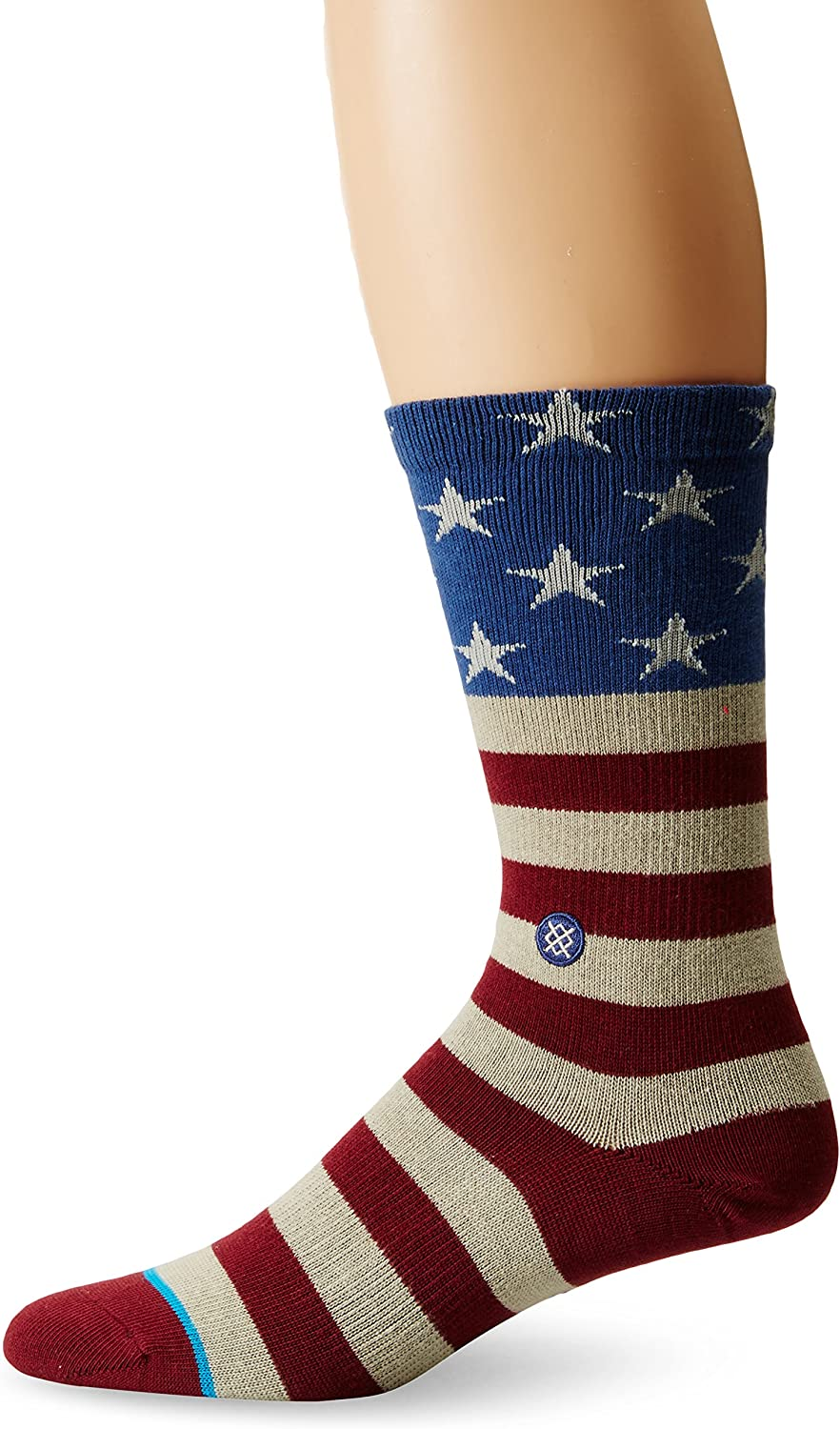 Stance The Fourth Socks Red