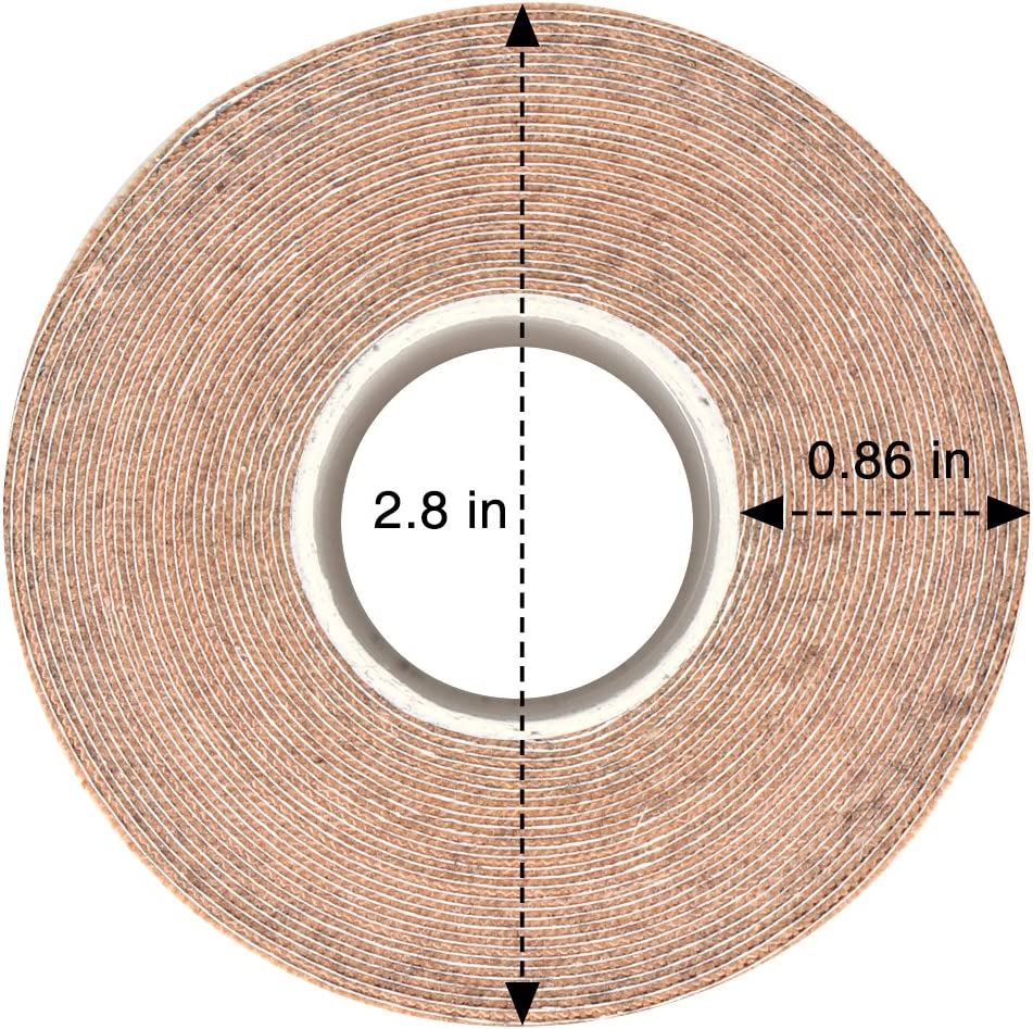 Athletic Sports Tape Elastic Tape 100/% Cotton 2inch x 16ft Roll Uncut Waterproof Breathable for Muscle Support Pain Relief Atemto Kinesiology Tape