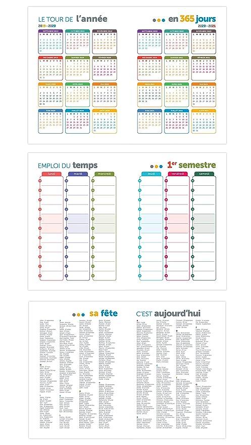 L Etudiant Original – 1 – Agenda escolar (15 x 20 cm negro ...