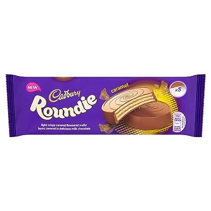 Cadbury Roundie Caramel Wafer Chocolate 150 G