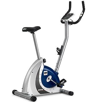 BH Fitness Astra Program H286FD Bicicleta estática - 8 Programas predefinidos - 14 Niveles - Plata y Azul: Amazon.es: Deportes y aire libre