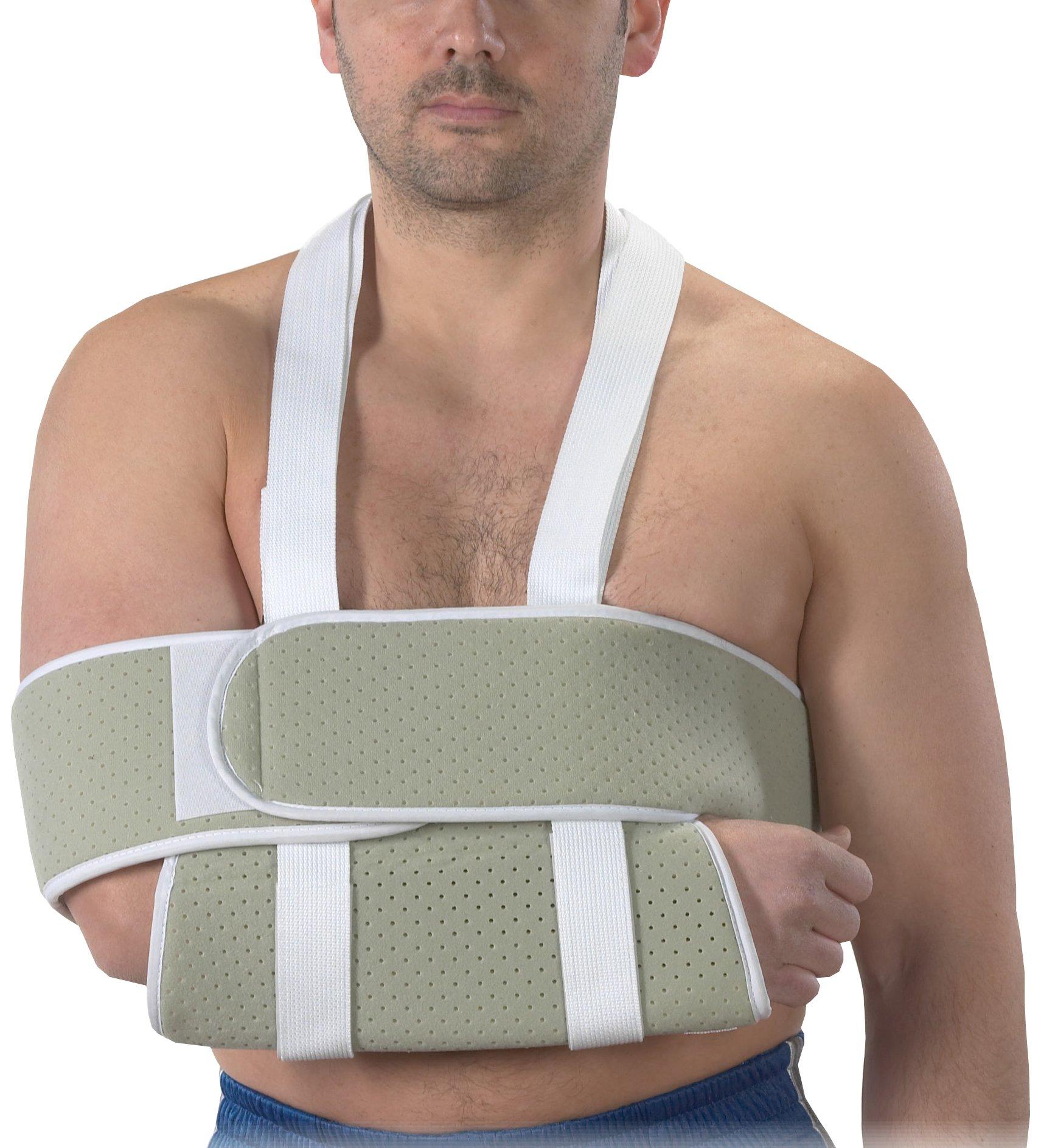 Bilt-Rite Mastex Health Universal Shoulder Immobilizer, Beige