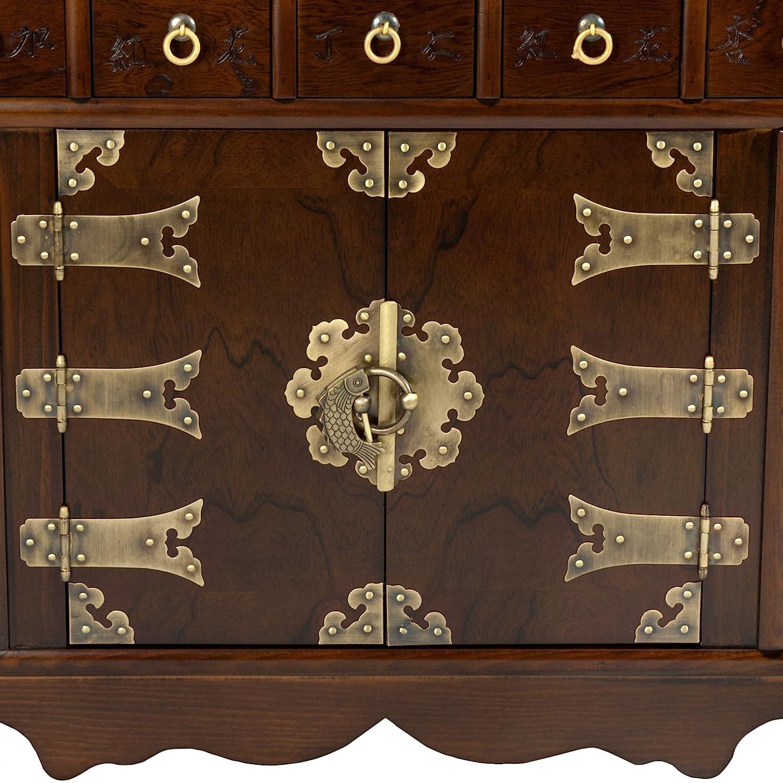 Amazon.com: Oriental Muebles coreano 69 cajón Apothecary ...
