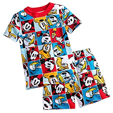 Disney Mickey Mouse and Friends PJ PALS Pajamas Short Set for Boys Size 2 f581ceb19