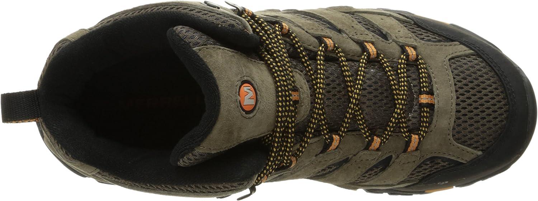 Merrell Herren Moab 2 Mid Vent Trekking- & Wanderstiefel Walnut